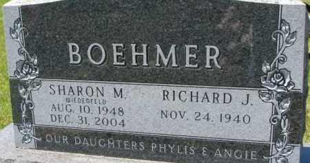 WIEDENFELD BOEHMER, SHARON M. - Dixon County, Nebraska | SHARON M. WIEDENFELD BOEHMER - Nebraska Gravestone Photos