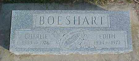 BOESHART, CHARLIE - Dixon County, Nebraska | CHARLIE BOESHART - Nebraska Gravestone Photos