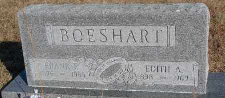 BOESHART, EDITH A. - Dixon County, Nebraska | EDITH A. BOESHART - Nebraska Gravestone Photos