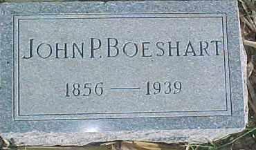 BOESHART, JOHN P - Dixon County, Nebraska | JOHN P BOESHART - Nebraska Gravestone Photos