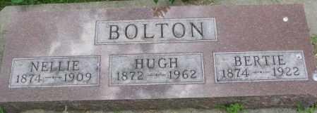 BOLTON, HUGH - Dixon County, Nebraska | HUGH BOLTON - Nebraska Gravestone Photos