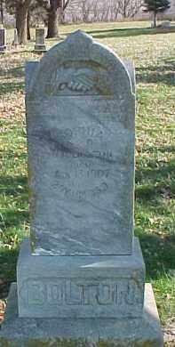 BOLTON, SOPHIA - Dixon County, Nebraska   SOPHIA BOLTON - Nebraska Gravestone Photos