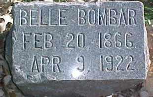BOMBAR, BELLE - Dixon County, Nebraska | BELLE BOMBAR - Nebraska Gravestone Photos