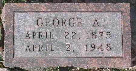 BOMBAR, GEORGE A. - Dixon County, Nebraska | GEORGE A. BOMBAR - Nebraska Gravestone Photos