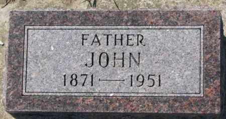 BONDERSON, JOHN - Dixon County, Nebraska   JOHN BONDERSON - Nebraska Gravestone Photos