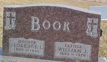 BOOK, FLORENCE I. - Dixon County, Nebraska | FLORENCE I. BOOK - Nebraska Gravestone Photos
