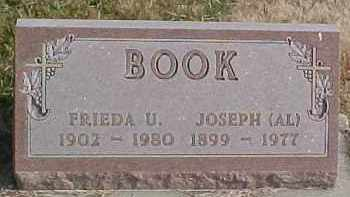 BOOK, FRIEDA U. - Dixon County, Nebraska | FRIEDA U. BOOK - Nebraska Gravestone Photos