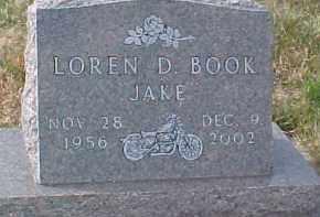 """BOOK, LOREN D.  """"JAKE"""" - Dixon County, Nebraska   LOREN D.  """"JAKE"""" BOOK - Nebraska Gravestone Photos"""