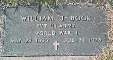 BOOK, WILLIAM J. (WW I MARKER) - Dixon County, Nebraska | WILLIAM J. (WW I MARKER) BOOK - Nebraska Gravestone Photos