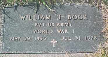 BOOK, WILLIAM J. (WW I MARKER) - Dixon County, Nebraska | WILLIAM J. (WW I MARKER) BOOK - Nebraska Gravestone Photos