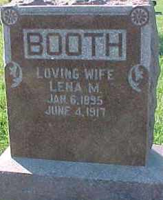 BOOTH, LENA M. - Dixon County, Nebraska | LENA M. BOOTH - Nebraska Gravestone Photos