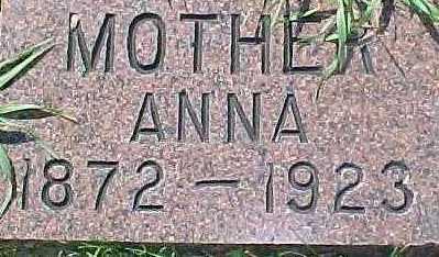 BORG, ANNA - Dixon County, Nebraska | ANNA BORG - Nebraska Gravestone Photos