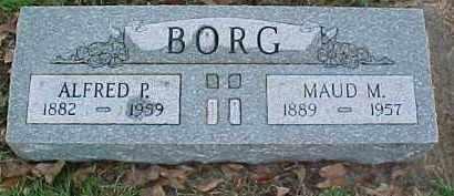 BORG, MAUD M. - Dixon County, Nebraska   MAUD M. BORG - Nebraska Gravestone Photos