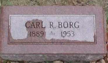 BORG, CARL R. - Dixon County, Nebraska | CARL R. BORG - Nebraska Gravestone Photos