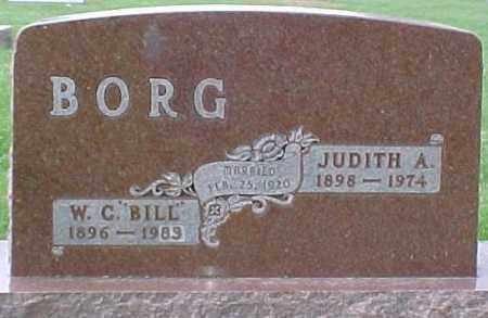 "BORG, W.C. ""BILL"" - Dixon County, Nebraska | W.C. ""BILL"" BORG - Nebraska Gravestone Photos"