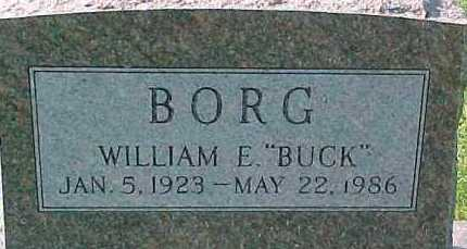 "BORG, WILLIAM E.  ""BUCK"" - Dixon County, Nebraska 