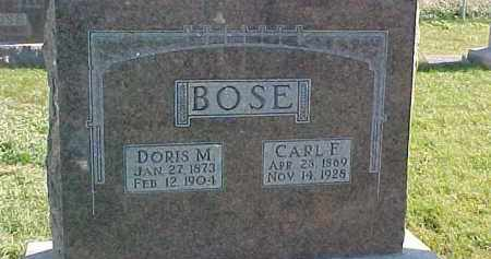 BOSE, CARL F. - Dixon County, Nebraska | CARL F. BOSE - Nebraska Gravestone Photos