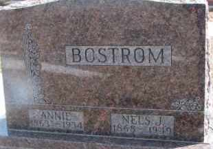 BOSTROM, ANNIE - Dixon County, Nebraska | ANNIE BOSTROM - Nebraska Gravestone Photos