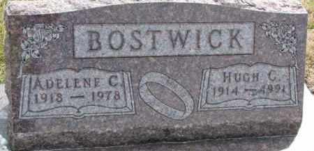 BOSTWICK, HUGH C. - Dixon County, Nebraska | HUGH C. BOSTWICK - Nebraska Gravestone Photos