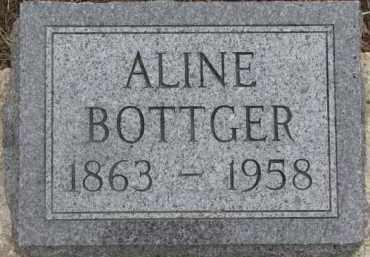 BOTTGER, ALINE - Dixon County, Nebraska   ALINE BOTTGER - Nebraska Gravestone Photos