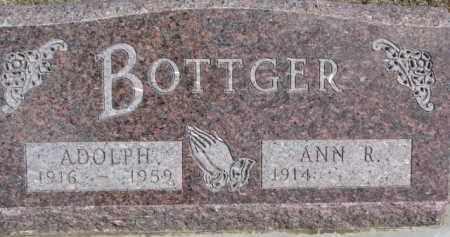 BOTTGER, ADOLPH - Dixon County, Nebraska | ADOLPH BOTTGER - Nebraska Gravestone Photos