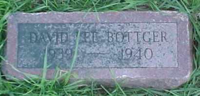 BOTTGER, DAVID LEE - Dixon County, Nebraska   DAVID LEE BOTTGER - Nebraska Gravestone Photos