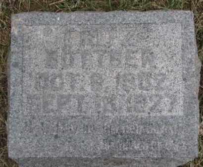 BOTTGER, FRITZ - Dixon County, Nebraska | FRITZ BOTTGER - Nebraska Gravestone Photos