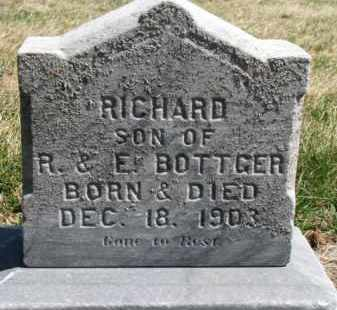BOTTGER, RICHARD - Dixon County, Nebraska | RICHARD BOTTGER - Nebraska Gravestone Photos
