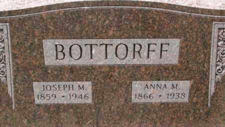 BOTTORFF, ANNA M. - Dixon County, Nebraska | ANNA M. BOTTORFF - Nebraska Gravestone Photos