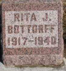 BOTTORFF, RITA J. - Dixon County, Nebraska | RITA J. BOTTORFF - Nebraska Gravestone Photos