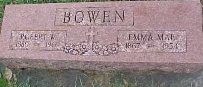 BOWEN, EMMA MAE - Dixon County, Nebraska | EMMA MAE BOWEN - Nebraska Gravestone Photos