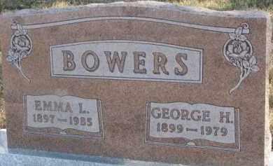 BOWERS, EMMA L. - Dixon County, Nebraska | EMMA L. BOWERS - Nebraska Gravestone Photos