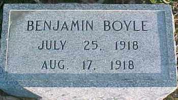 BOYLE, BENJAMIN - Dixon County, Nebraska | BENJAMIN BOYLE - Nebraska Gravestone Photos