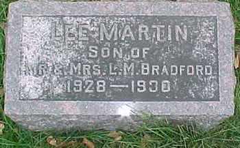 BRADFORD, LEE MARTIN - Dixon County, Nebraska | LEE MARTIN BRADFORD - Nebraska Gravestone Photos