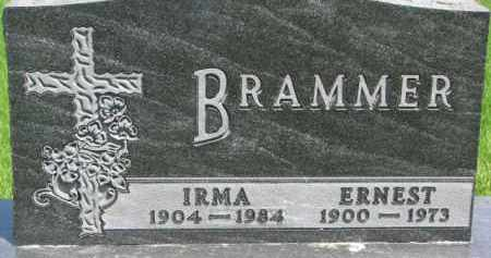 BRAMMER, IRMA - Dixon County, Nebraska | IRMA BRAMMER - Nebraska Gravestone Photos