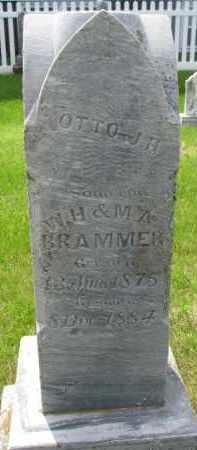 BRAMMER, OTTO J.H. - Dixon County, Nebraska   OTTO J.H. BRAMMER - Nebraska Gravestone Photos