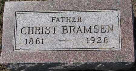 BRAMSEN, CHRIST - Dixon County, Nebraska | CHRIST BRAMSEN - Nebraska Gravestone Photos