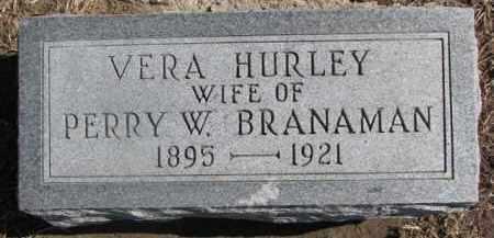BRANAMAN, VERA - Dixon County, Nebraska | VERA BRANAMAN - Nebraska Gravestone Photos