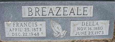 BREAZEALE, FRANCIS - Dixon County, Nebraska   FRANCIS BREAZEALE - Nebraska Gravestone Photos