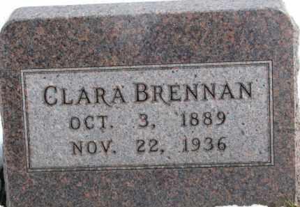 BRENNAN, CLARA - Dixon County, Nebraska | CLARA BRENNAN - Nebraska Gravestone Photos
