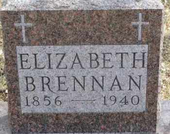 BRENNAN, ELIZABETH - Dixon County, Nebraska | ELIZABETH BRENNAN - Nebraska Gravestone Photos