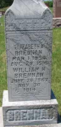 BRENNAN, WILLIAM H. - Dixon County, Nebraska | WILLIAM H. BRENNAN - Nebraska Gravestone Photos