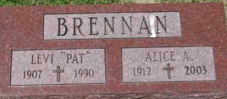 BRENNAN, ALICE A. - Dixon County, Nebraska | ALICE A. BRENNAN - Nebraska Gravestone Photos