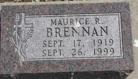 BRENNAN, MAURICE R. - Dixon County, Nebraska | MAURICE R. BRENNAN - Nebraska Gravestone Photos