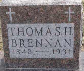 BRENNAN, THOMAS H. - Dixon County, Nebraska | THOMAS H. BRENNAN - Nebraska Gravestone Photos
