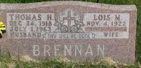 BRENNAN, LOIS M. - Dixon County, Nebraska | LOIS M. BRENNAN - Nebraska Gravestone Photos