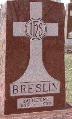 BRESLIN, KATHERINE - Dixon County, Nebraska | KATHERINE BRESLIN - Nebraska Gravestone Photos