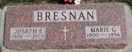 BRESNAN, JOSEPH P. - Dixon County, Nebraska | JOSEPH P. BRESNAN - Nebraska Gravestone Photos