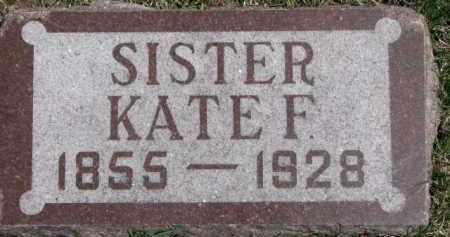 BRESNAN, KATE F. - Dixon County, Nebraska | KATE F. BRESNAN - Nebraska Gravestone Photos