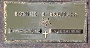 BRESSLER, BONNIE B. - Dixon County, Nebraska | BONNIE B. BRESSLER - Nebraska Gravestone Photos